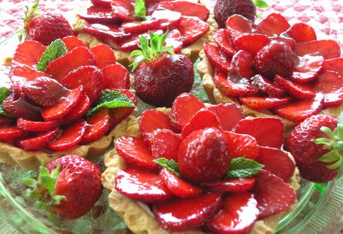 Strawberry-Ricotta Tartlet 4