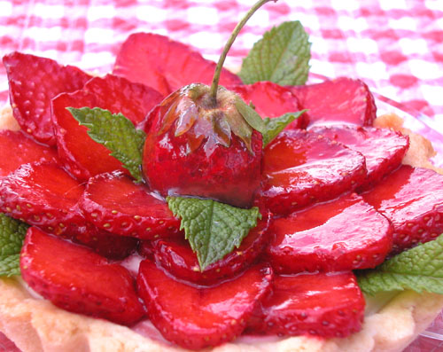 ... strawberry ricotta graham tartlets recipes dishmaps strawberry ricotta